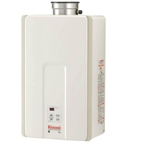 1) Rinnai Tankless Water Heater