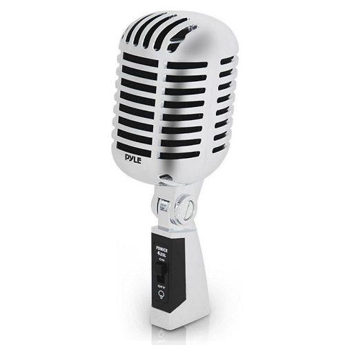 10) Classic Retro Dynamic Microphone