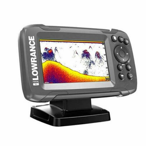 10) Lowrance HOOK2 4X Fish Finder