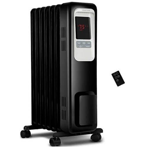 3) Aikoper Electric Oil Filled Radiator Heater