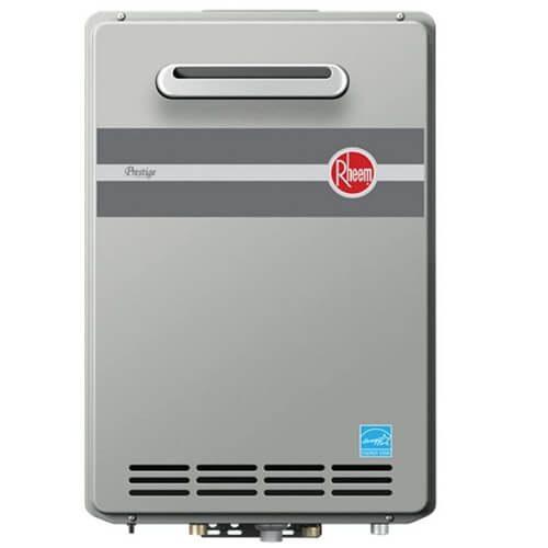 3) Rheem Tankless Water Heater