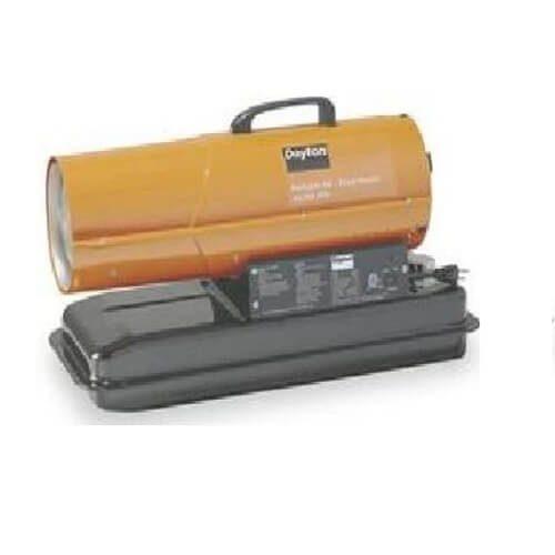 4) Dayton Oil Fired Kerosene Heater