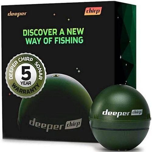 4) Deeper Chirp Portable Fishing Rod