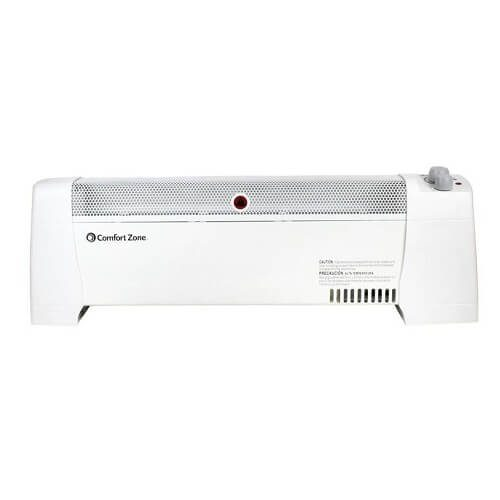5) Comfort Zone Electric Baseboard Heater