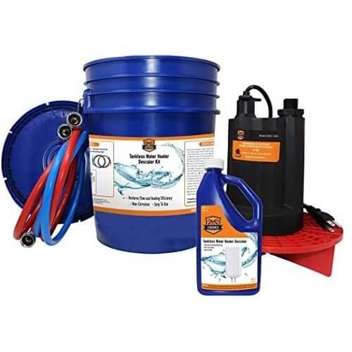 6) Chromex Tankless Flush Kit