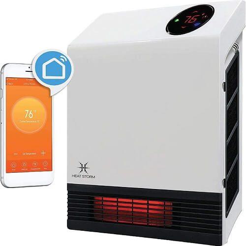 6) Heat Storm Infrared Wall Heater