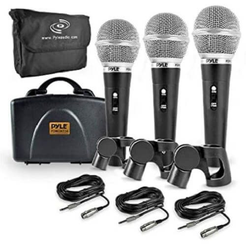 6) Pyle Professional Dynamic Microphone