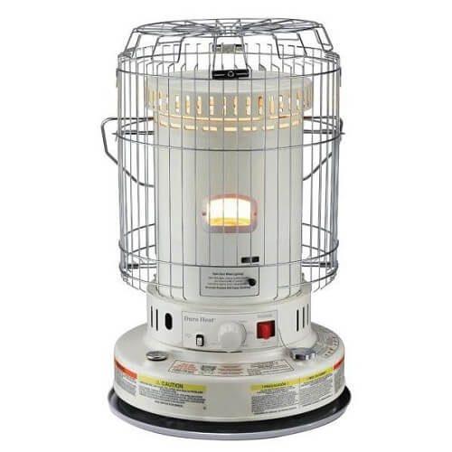 7) Dura Heat Indoor Kerosene Heater
