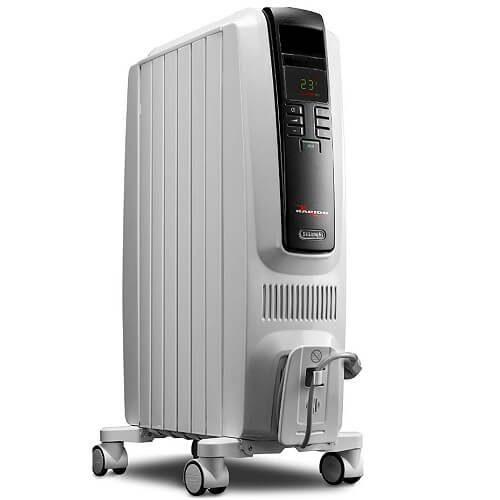 8) Indoor Durable Oil Filled Heater
