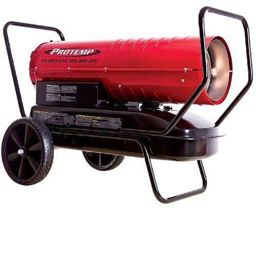 8) Pro-Temp Kerosene Forced Air Heater