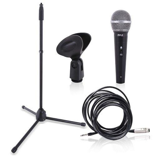 9) Pyle Dynamic Microphone Kit